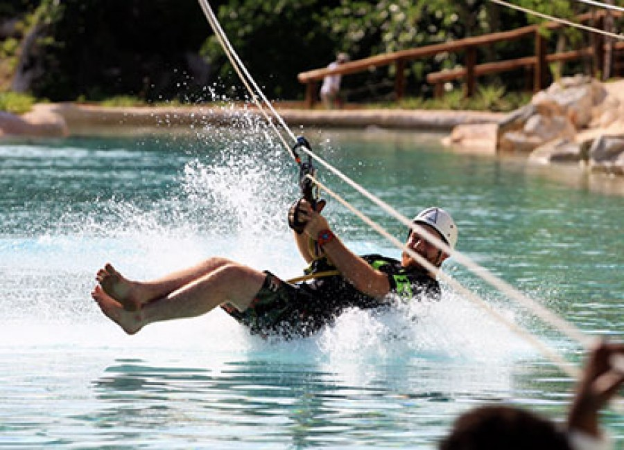 Zip Lines Eco Splash